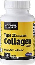 Parfüm, Parfüméria, kozmetikum Étrend-kiegészítő 2-es típusú kollagén komplexum, 500 mg, 60 kapszula - Jarrow Formulas Type II Collagen Complex