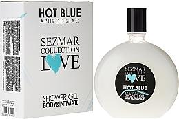 Parfüm, Parfüméria, kozmetikum Tusfürdő - Sezmar Collection Love Hot Blue Aphrodisiac Shower Gel