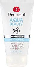 Parfüm, Parfüméria, kozmetikum Arclemosó gél - Dermacol Aqua Beauty 3v1 Face Cleansing Gel