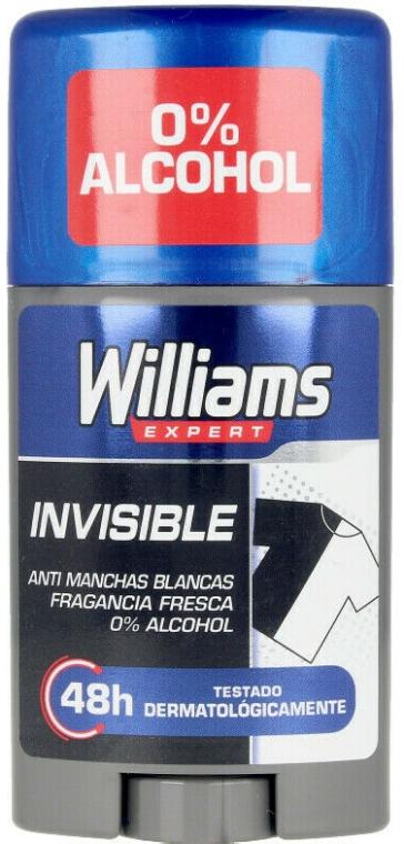Deo-stick - Williams Expert Invisible Deodorant Stick