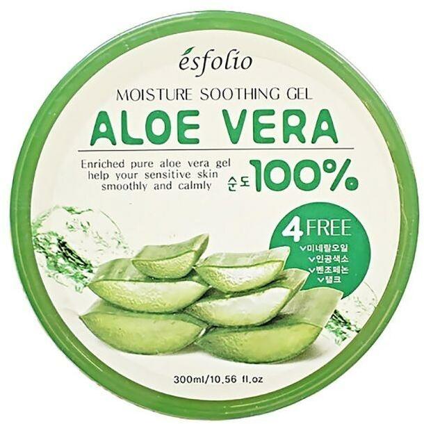 Hidratáló gél aloe verával - Esfolio Moisture Soothing Gel Aloe Vera 100% Purity