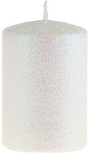 Parfüm, Parfüméria, kozmetikum Dekoratív gyertya, gyöngyház, 7x10 cm - Artman Glamour