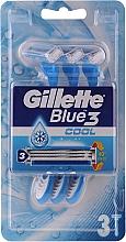 Parfüm, Parfüméria, kozmetikum Eldobható borotva - Gillette Blue 3 Cool 3 db.
