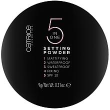Parfüm, Parfüméria, kozmetikum Arcpúder - Catrice 5 in 1 Setting Powder