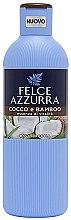 Parfüm, Parfüméria, kozmetikum Tusfürdő - Felce Azzurra Coconut and Bamboo Body Wash