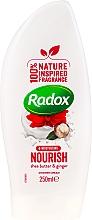 Parfüm, Parfüméria, kozmetikum Tusfürdő krém-gél - Radox Moisturising Nourish Shea Butter & Ginger Shower Cream