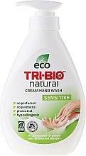 Parfüm, Parfüméria, kozmetikum Natúr folyékony szappan - Tri-Bio Cream Wash Sensitive