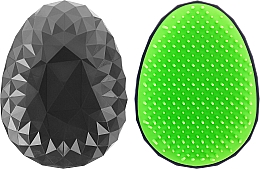 Parfüm, Parfüméria, kozmetikum Hajkefe, fekete és saláta zöld - Twish Spiky Hair Brush Model 2 Midnight Black