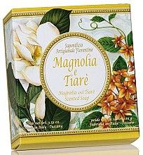 """Parfüm, Parfüméria, kozmetikum Natúr szappan """"Magnólia és gardénia"""" - Saponificio Artigianale Fiorentino Magnolia & Tiare Soap"""