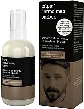 Parfüm, Parfüméria, kozmetikum Nyugtató balzsam-gél szakállra férfiaknak - Tolpa Dermo Men Barber