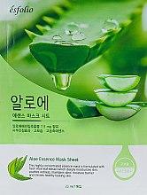 "Parfüm, Parfüméria, kozmetikum Anyagmaszk ""Aloe vera kivonat"" - Esfolio Aloe Essence Mask Sheet"
