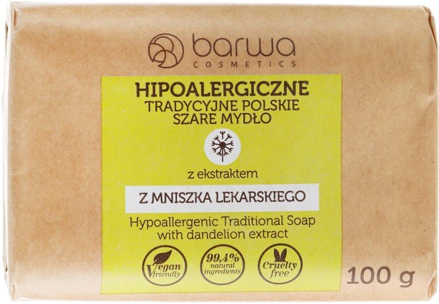 """Hipoallergén szappan """"Gyógyító pitypang"""" - Barwa Soap"""