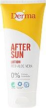 Parfüm, Parfüméria, kozmetikum Napozás utáni testápoló aloe verával - Derma After Sun Lotion Med Aloe Vera