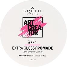 Parfüm, Parfüméria, kozmetikum Könnyed tartást biztosító fényes wax - Brelil Art Creator Extra Glossy Pomade