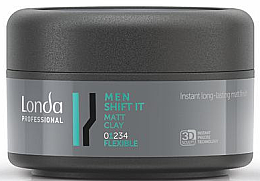 Parfüm, Parfüméria, kozmetikum Matt hatású agyag hajra normál fixálás - Londa Professional Men Shift It Matt Clay
