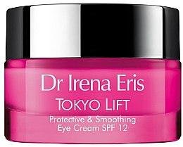 Parfüm, Parfüméria, kozmetikum Védő és simító krém szemre - Dr Irena Eris Tokyo Lift Protective& Smoothing Eye Cream SPF12