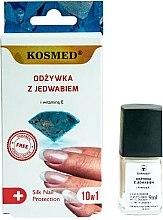 Parfüm, Parfüméria, kozmetikum Selyem körömkondicionáló 10 az 1-ben - Kosmed Silk Nail Conditioner
