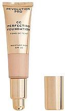 Parfüm, Parfüméria, kozmetikum CC krém - Revolution Pro CC Cream Perfecting Foundation SPF 30