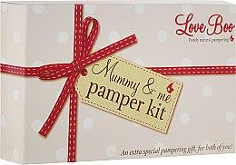 Parfüm, Parfüméria, kozmetikum Készlet - Love Boo Mummy & Me Pamper Kit (b/lot/50ml + sh/gel/shm/50ml + b/oil/15ml + oil/100ml + b/lot/250ml)