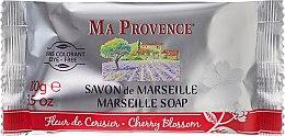 """Parfüm, Parfüméria, kozmetikum Marseille-i szappan """"Cseresznyevirág"""" - Ma Provence Marseille Soap Cherry Blossom"""