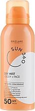 Parfüm, Parfüméria, kozmetikum Napvédő spray arcra és testre - Oriflame Sun 360 Dry Mist SPF 50