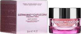 Parfüm, Parfüméria, kozmetikum Éjszakai regeneráló arcmaszk - Germaine de Capuccini Timexpert Rides Night Success