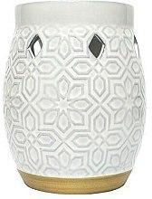Parfüm, Parfüméria, kozmetikum Aromalámpa - Yankee Candle Wax Burner Addison Patterned Ceramic