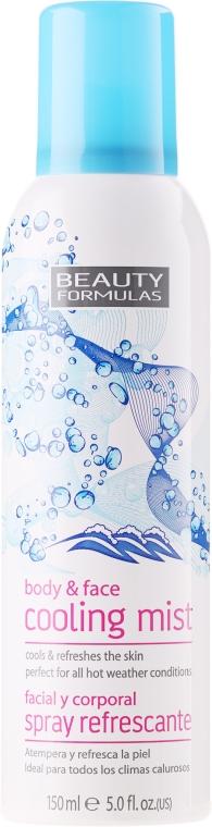 Hűsítő spray arcra és testre - Beauty Formulas Cooling Mist Spray