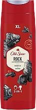 Parfüm, Parfüméria, kozmetikum Tusfürdő-sampon 2 az 1-ben - Old Spice Rock With Charcoal Shower Gel + Shampoo