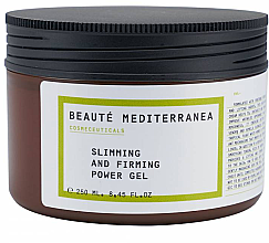 Parfüm, Parfüméria, kozmetikum Narancsbőr elleni simító testápoló gél - Beaute Mediterranea Slimming And Firming Power Gel