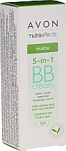Parfüm, Parfüméria, kozmetikum Mattító BB krém 5 az 1-ben SPF 15 - Avon Nutra Effects Matte BB Cream With Willow Leaf And Rice Extract
