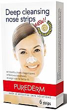 Parfüm, Parfüméria, kozmetikum Orrtisztító csíkok - Purederm Deep Cleansing Nose Pore Strips