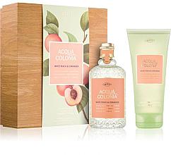 Parfüm, Parfüméria, kozmetikum Maurer & Wirtz 4711 Aqua Colognia White Peach & Coriander - Szett (col 170ml +sh/gel/200ml)