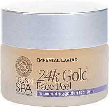 Parfüm, Parfüméria, kozmetikum Arany arcpeeling - Natura Siberica Fresh Spa Imperial Caviar Rejuvenating Golden Face Peel 24K Gold