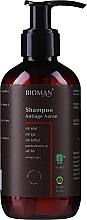 Parfüm, Parfüméria, kozmetikum Anti-age sampon - BioMAN Aaron Anti-Age Shampoo