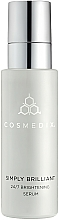 Parfüm, Parfüméria, kozmetikum Élénkítő szérum 24-órás hatással - Cosmedix Simply Brilliant 24/7 Brightening Serum