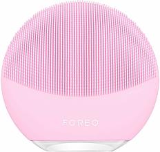 Parfüm, Parfüméria, kozmetikum Intelligens kefe tisztító és komplex arcmasszázshoz - Foreo Luna Mini 3 Facial Cleansing Brush Pearl Pink