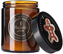 """Parfüm, Parfüméria, kozmetikum Illatgyertya üvegben """"Gyömbéres mézeskalács"""" - Flagolie Fragranced Candle Gingerbread"""