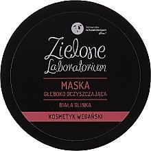 Parfüm, Parfüméria, kozmetikum Mélytisztító fehér agyag arcpakolás - Zielone Laboratorium