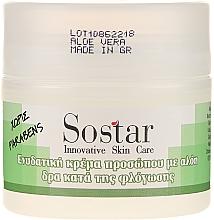 Parfüm, Parfüméria, kozmetikum Hidratáló arckrém aloe verával - Sostar Moisturizing Face Cream With Aloe Vera