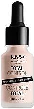 Parfüm, Parfüméria, kozmetikum Primer arcra - NYX Professional Makeup Professional Total Control Drop Primer