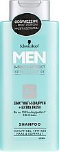 Parfüm, Parfüméria, kozmetikum Korpa elleni sampon - Schwarzkopf Men Deep Effect 3 Zinc Anti-Dandruff+Oil Control Shampoo