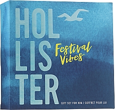 Parfüm, Parfüméria, kozmetikum Hollister Festival Vibes For Him - Szett (edt/50ml + h/b/wash/100ml)