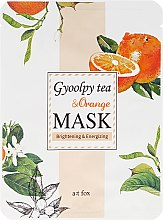 "Parfüm, Parfüméria, kozmetikum ""Gyoolpy Tea & Orange"" arcmaszk - A:t fox Gyoolpy Tea & Orange Mask"