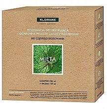 Parfüm, Parfüméria, kozmetikum Szett - Klorane Aquatic Mint (shm/200ml + h/balm/150ml)