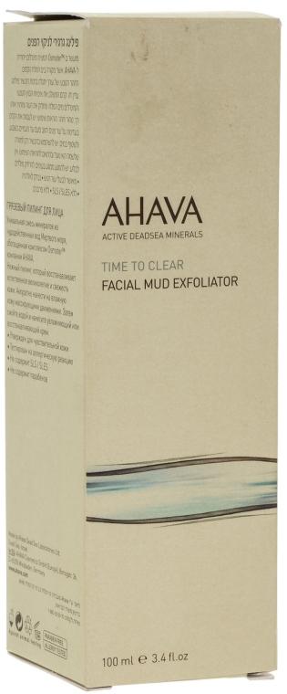 Arctisztító maszk - Ahava Time To Clear Facial Mud Exfoliator — fotó N1