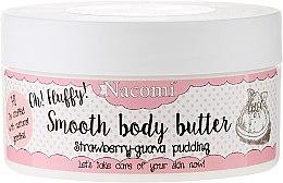 "Parfüm, Parfüméria, kozmetikum ""Eper-guava puding"" testvaj - Nacomi Smooth Body Butter Strawberry-Guawa Pudding"