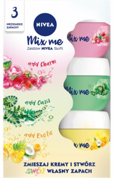 Készlet - Nivea Soft (cr/50ml + cr/50ml + cr/50ml)