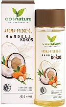 """Parfüm, Parfüméria, kozmetikum Testápoló olaj """"Mandula és kókusz"""" - Cosnature Aromatherapy Body Oil Almond & Coconut"""