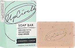 """Parfüm, Parfüméria, kozmetikum Szappan """"Fahéj és gyömbér"""" - UpCircle Cinnamon + Ginger Chai Soap Bar"""